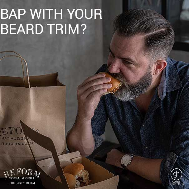 reform social grill beard trim