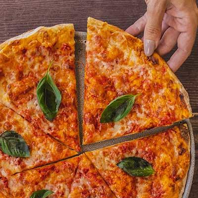 margherita pizza dubai