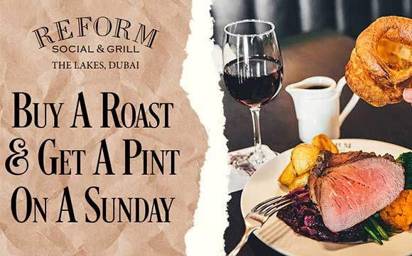 Buy a Roast and Get a Pint