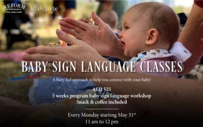 Baby Sign Language Classes