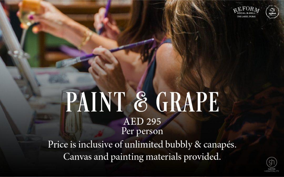 Paint & Grape