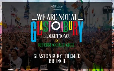 WE ARE NOT AT GLASTONBURY