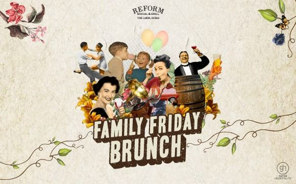 THE ULTIMATE FRIDAY FAMILY BRUNCH